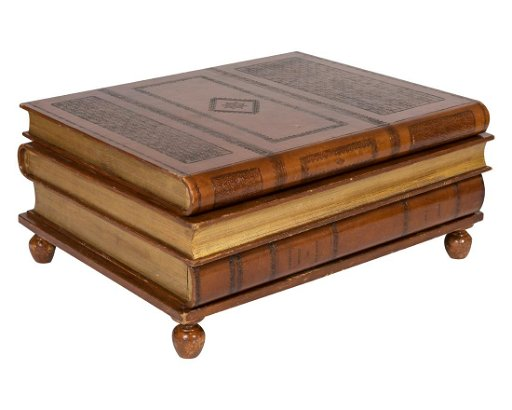 Maitland Smith Leather Coffee Table Signed
