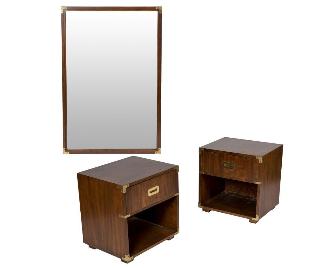 Henredon Heritage Nightstands and Mirror
