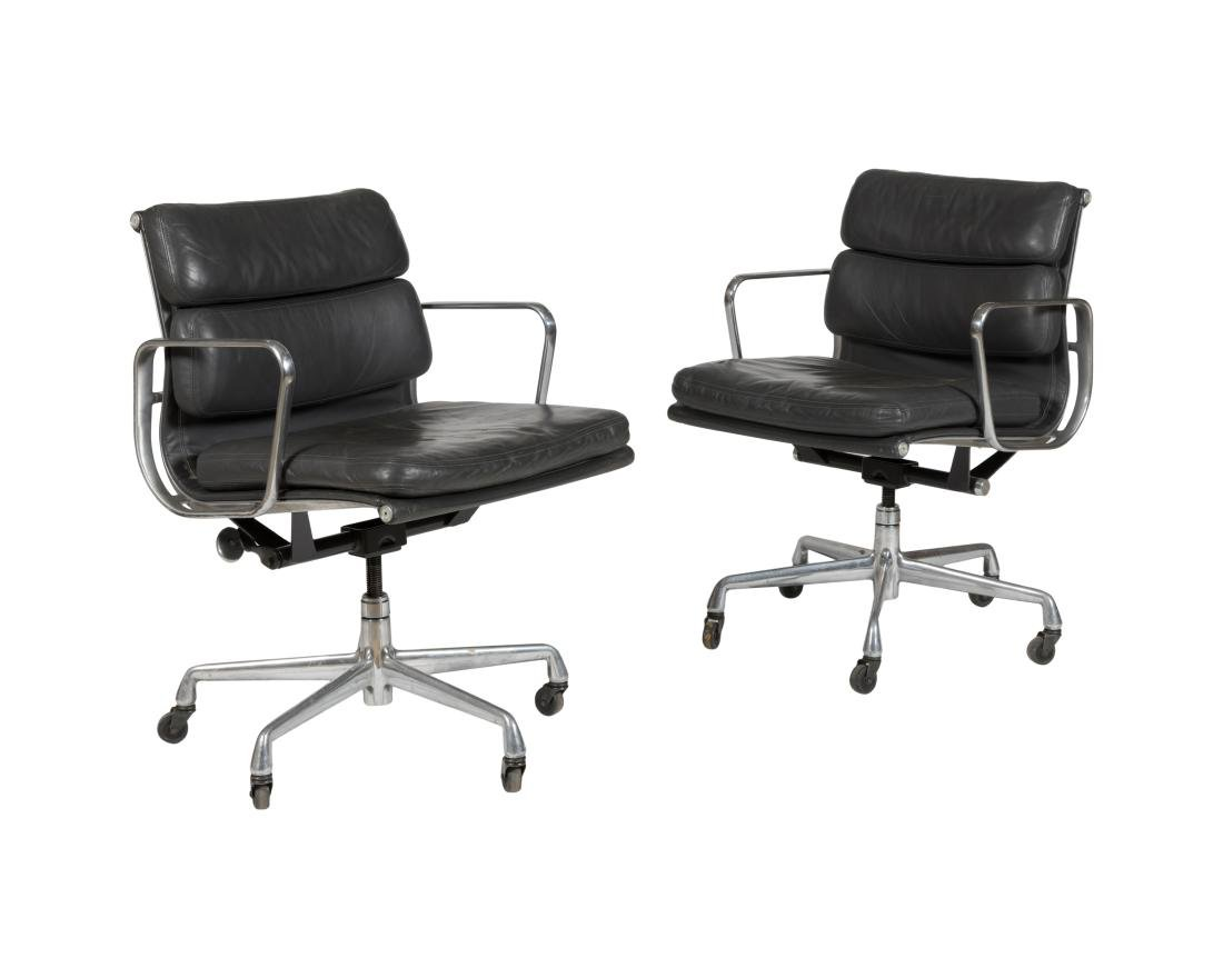 Charles Eames Soft Pad Chairs (435) - Two