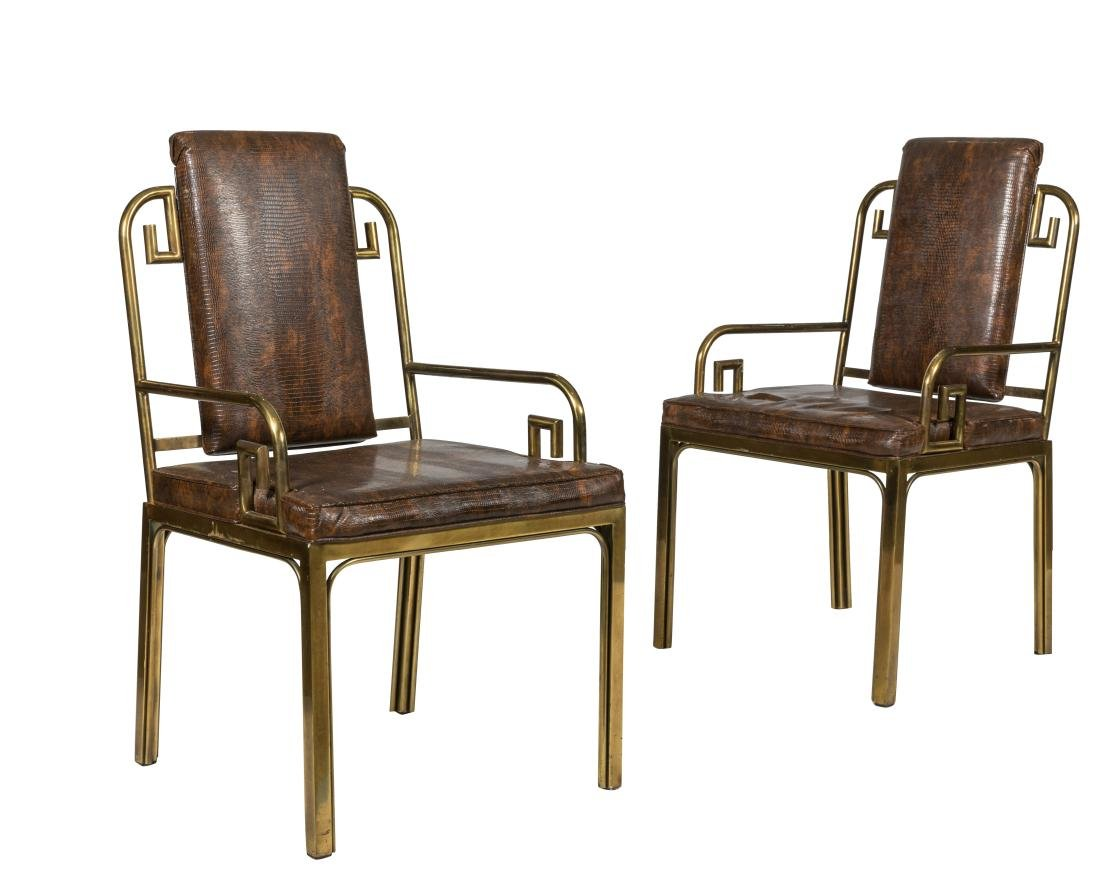 Mastercraft Arm Chairs - Pair