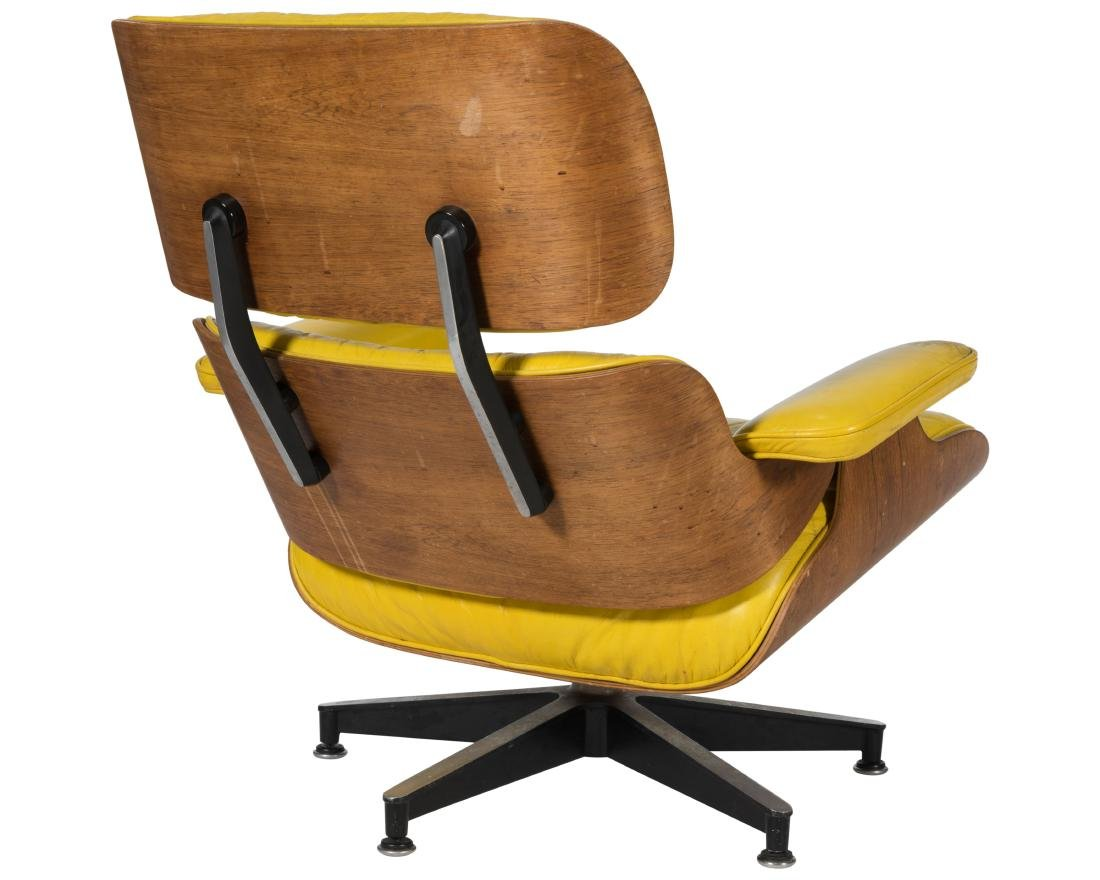 Early Eames Lounge Chair and Ottoman - Signed - 2