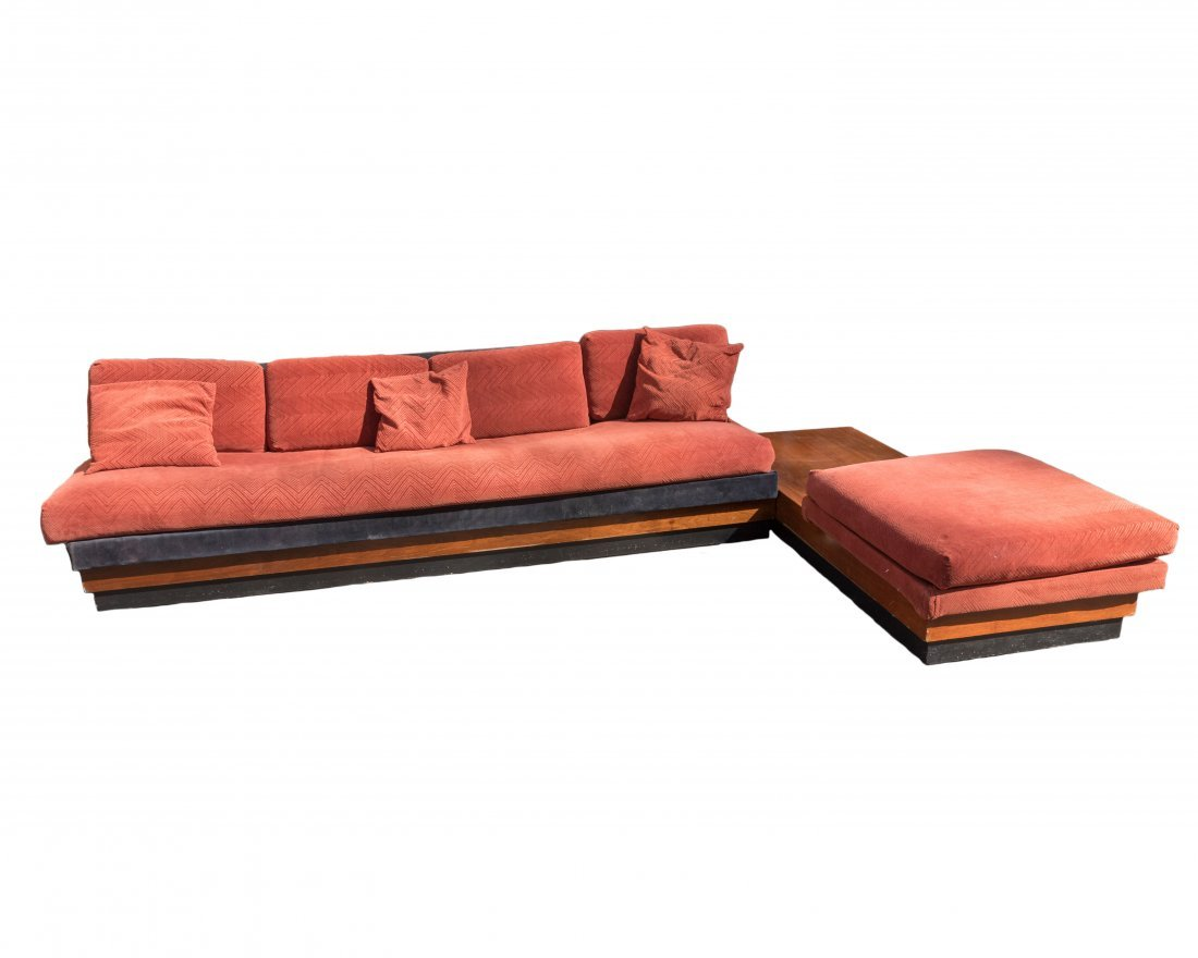 Adrian Pearsall Craft Associates Sofa