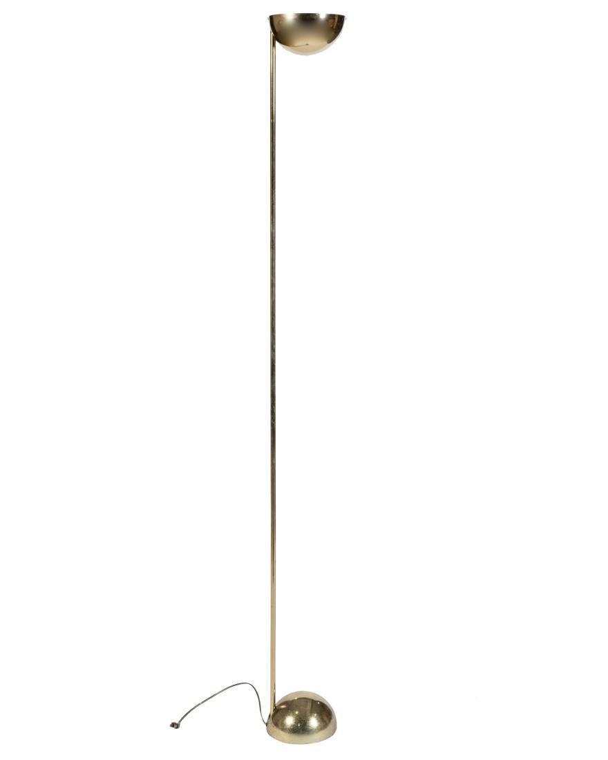 Sonneman Brass Floor Lamp