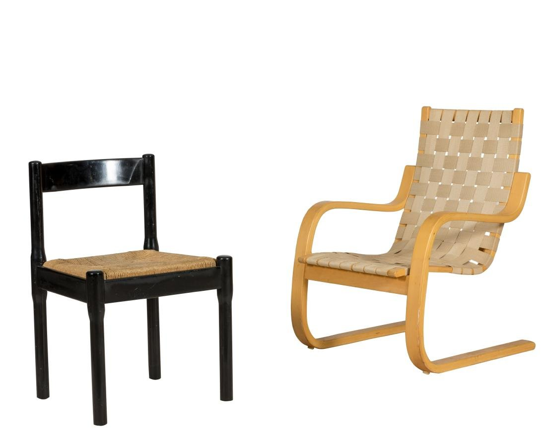 ICF Alvar Aalto Chair and Stendig Chair