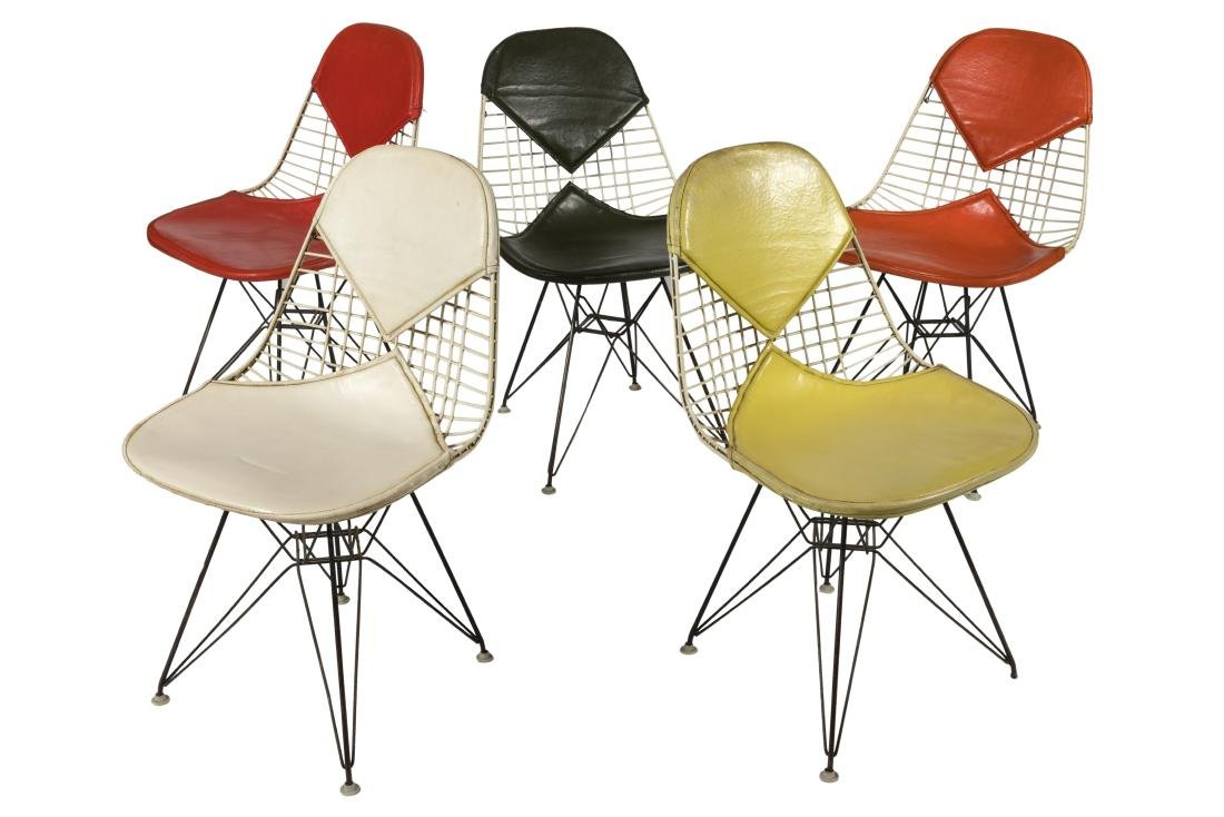 Herman Miller Bikini Chairs - Five