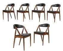 Kai Kristiansen Model 31 Teak Chairs - Six