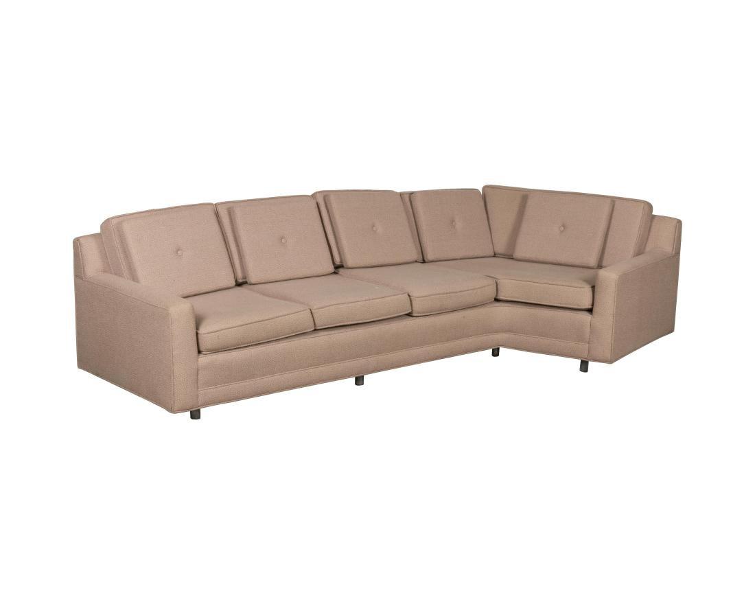 Harvey Probber Mid Century Angular Sofa