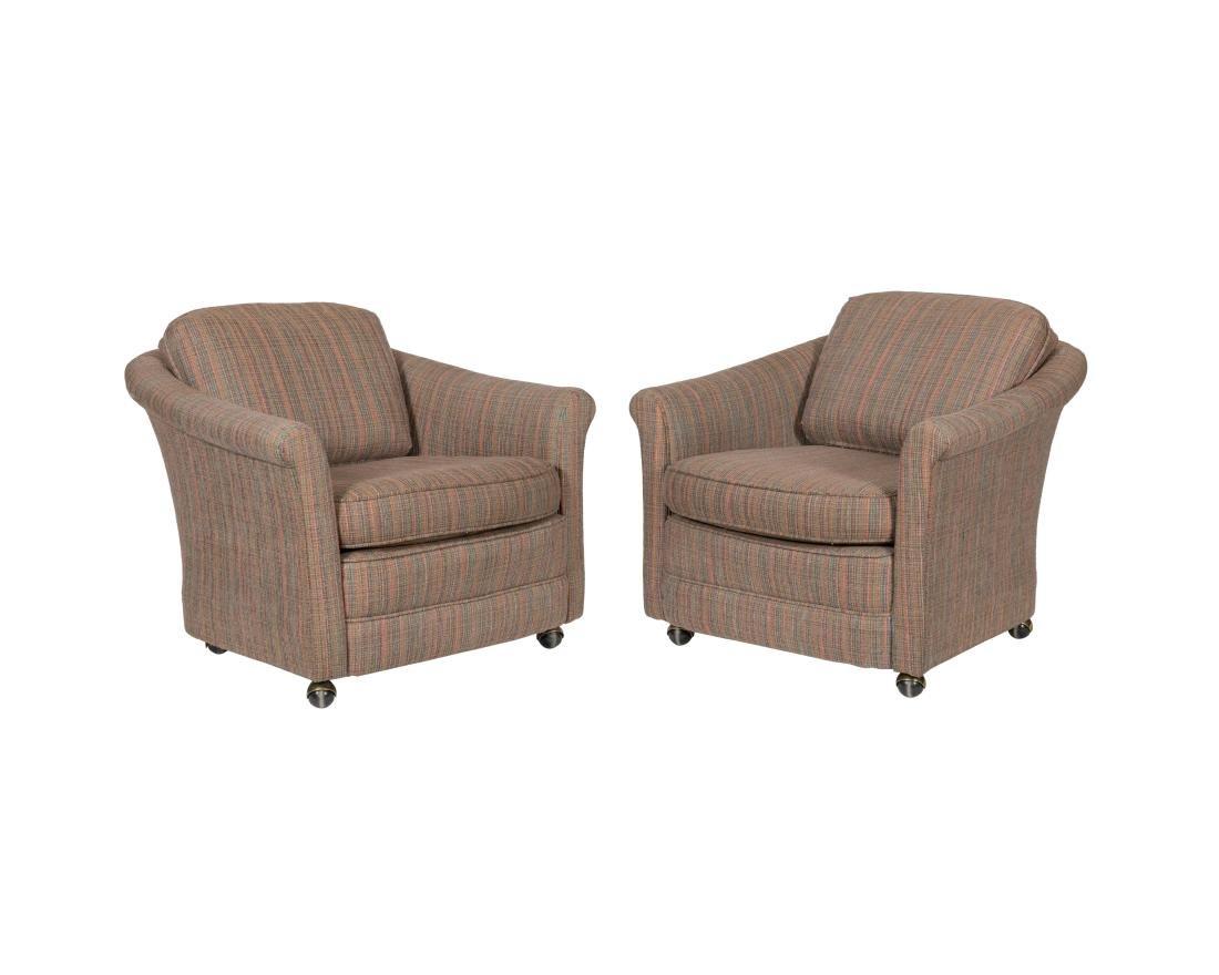 Edward Wormley Dunbar Lounge Chairs