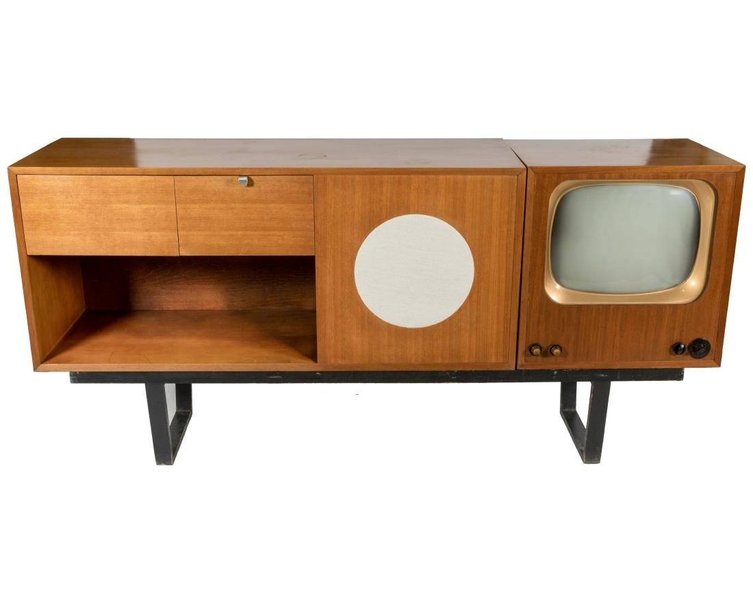 George Nelson & Associates Stereo Cabinet