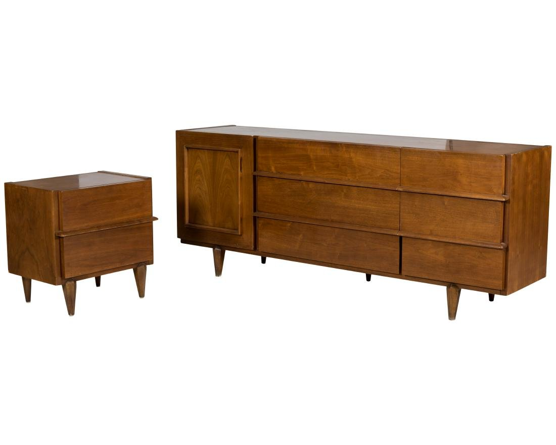 American of Martinsville Credenza and Nightstand