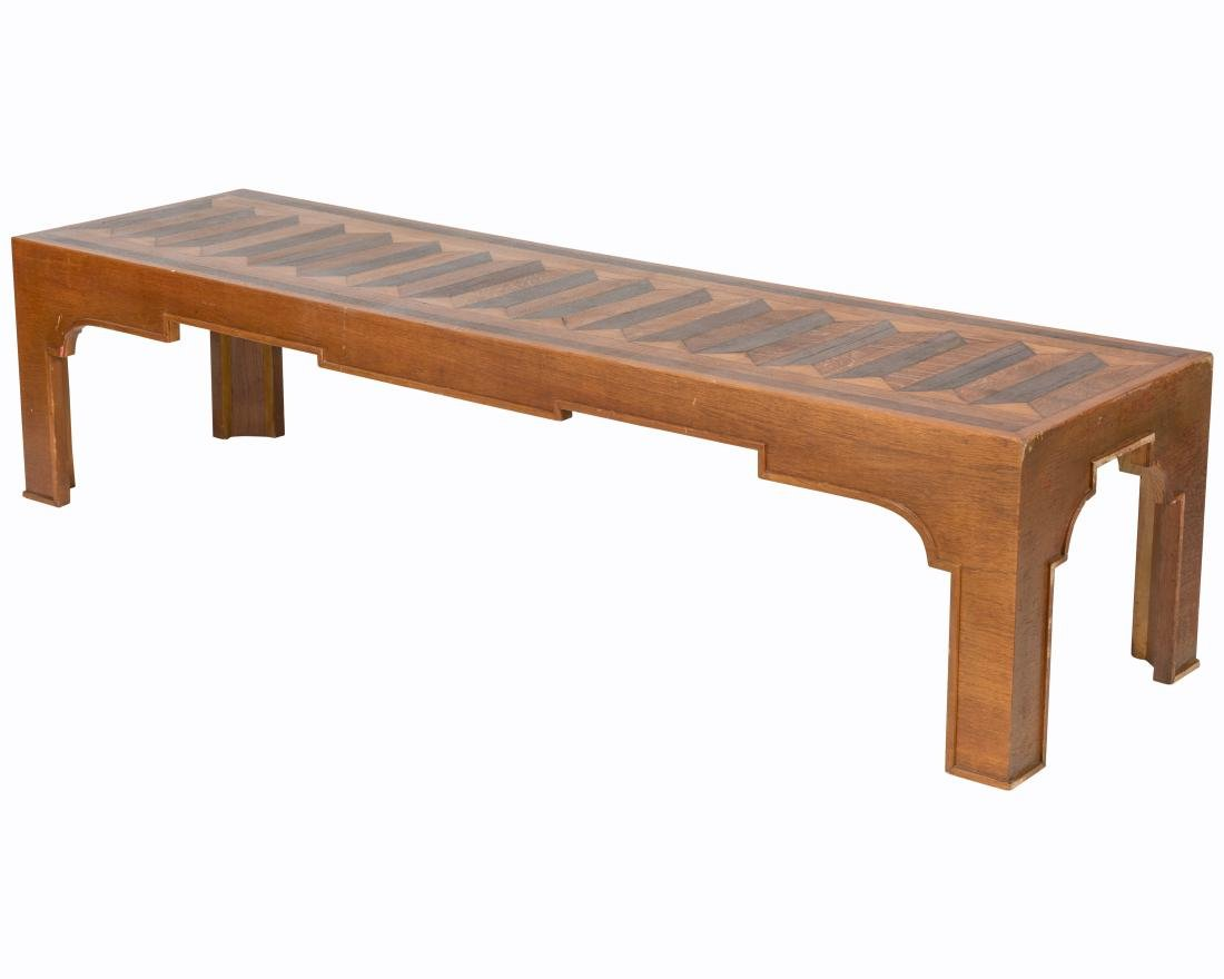 Percival Lafer (Attr.) Inlaid Coffee Table