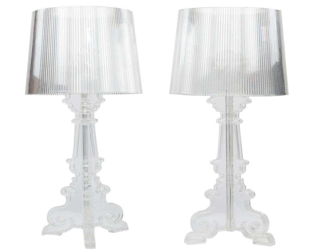 Kartell Bourgie Lamps - Pair