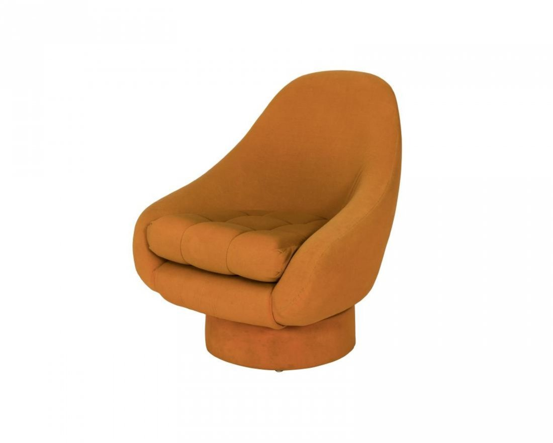 Chase Chair Co. Tufted Swivel Chair