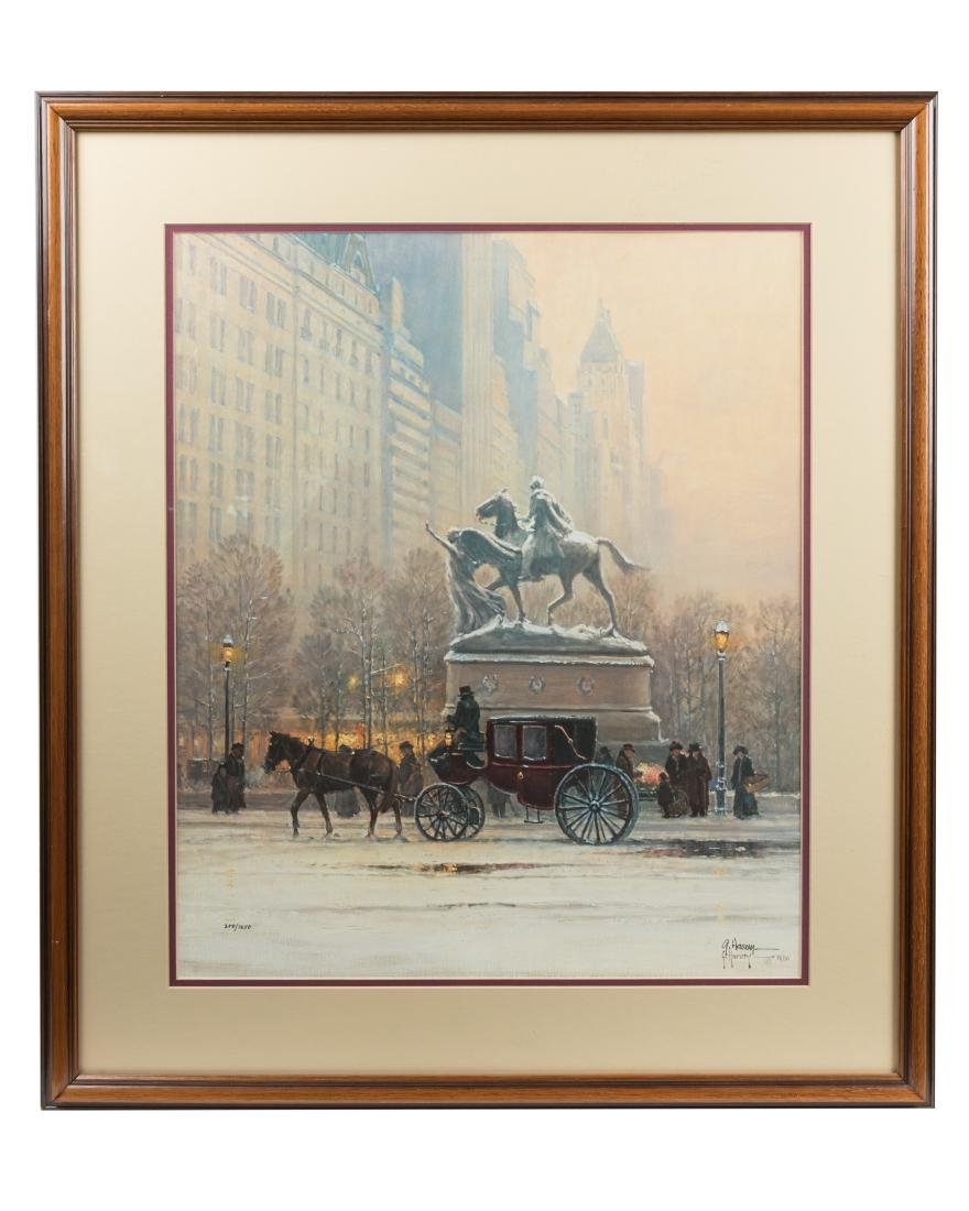 "Gerald Harvey - ""Fifth Avenue"" - Print"