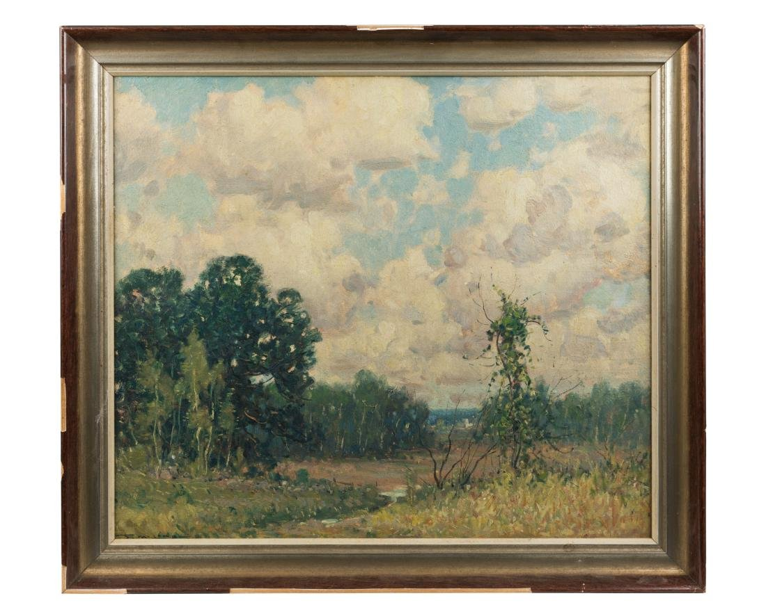 Frederick Lamb Oil on Board