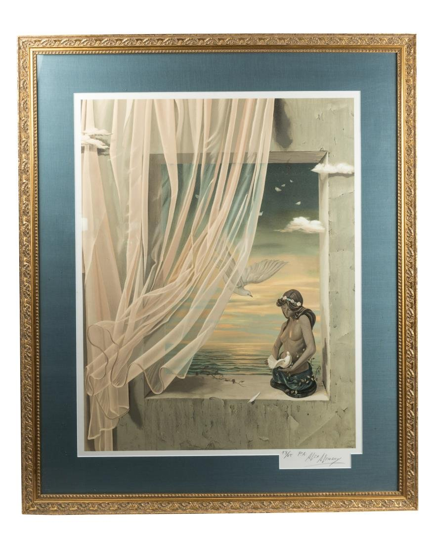 """Alex Alemany """"Tribute to Peace"""" - Lithograph"""