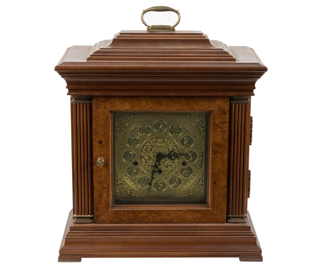 Wesrminster Burled Chime Clock