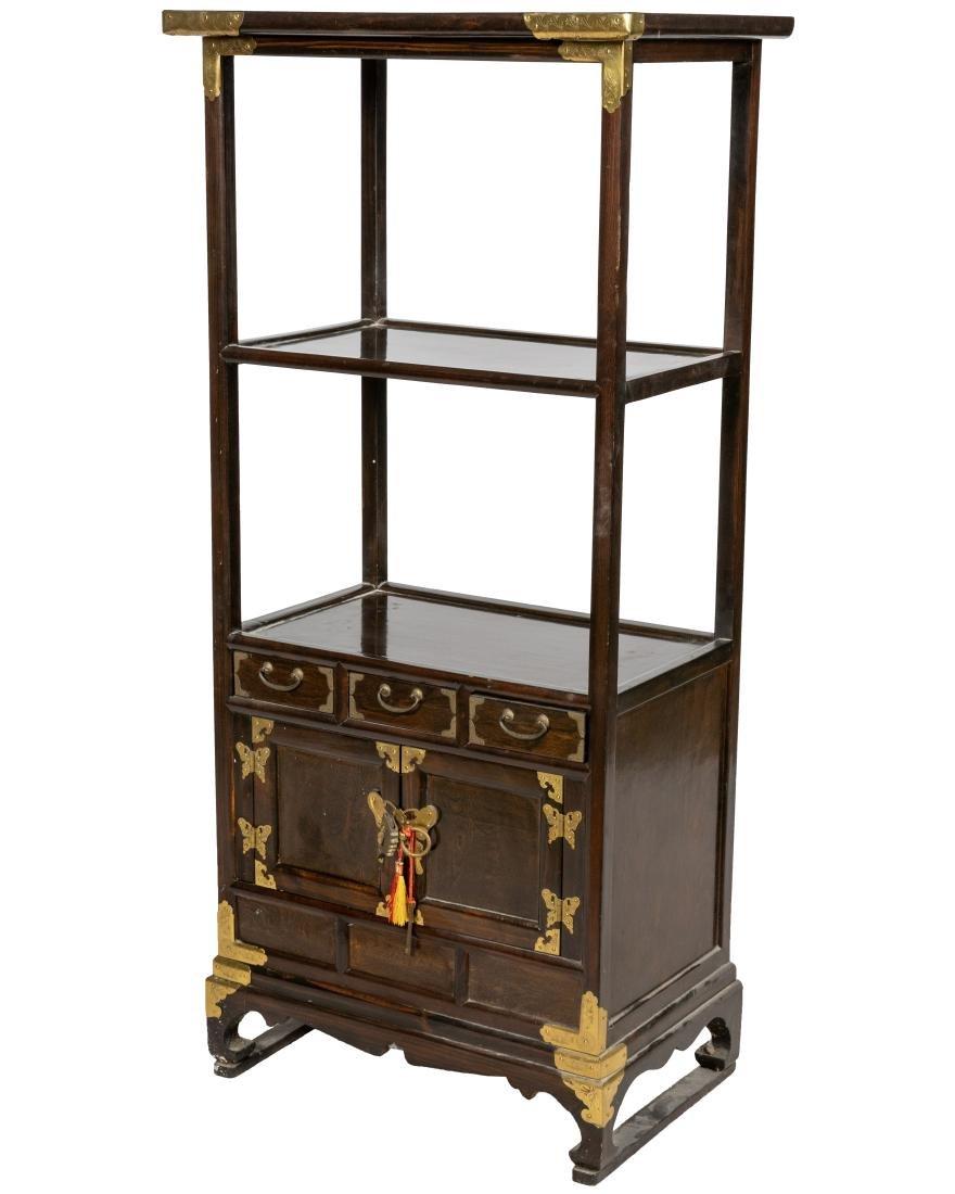 Oriental Spice Cabinet/Etagere