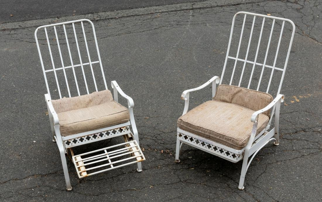 Iron Mechanical Recliners - Pair