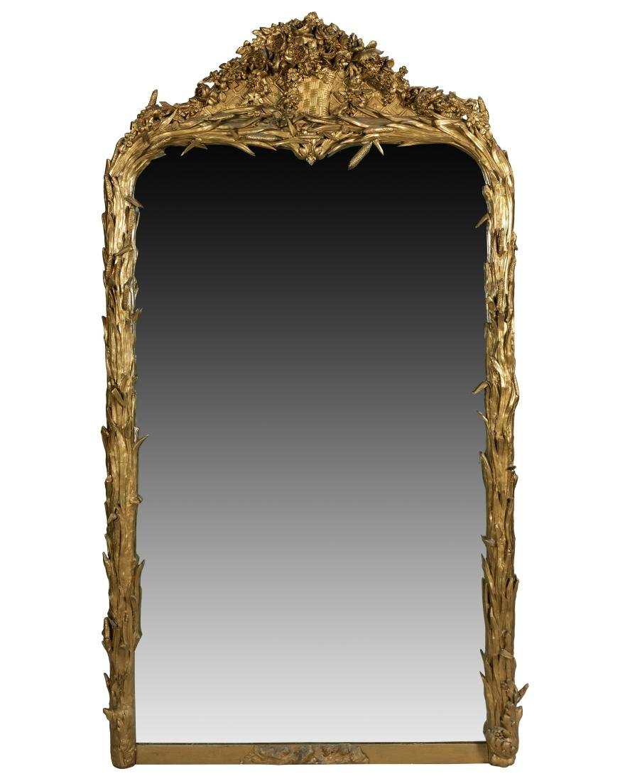 Ornate Victorian Pier Mirror