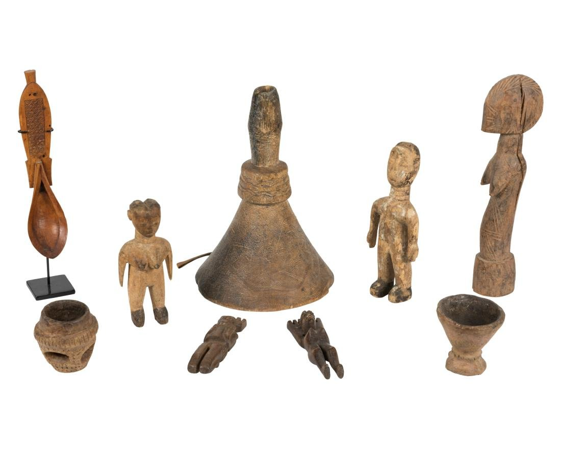 Primitive African Group of Carving