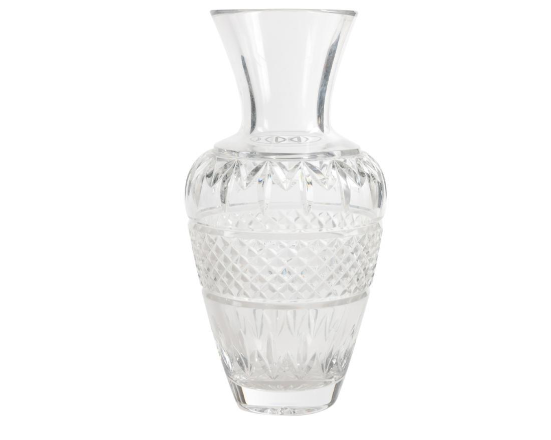 Waterford Cut Crystal Vase