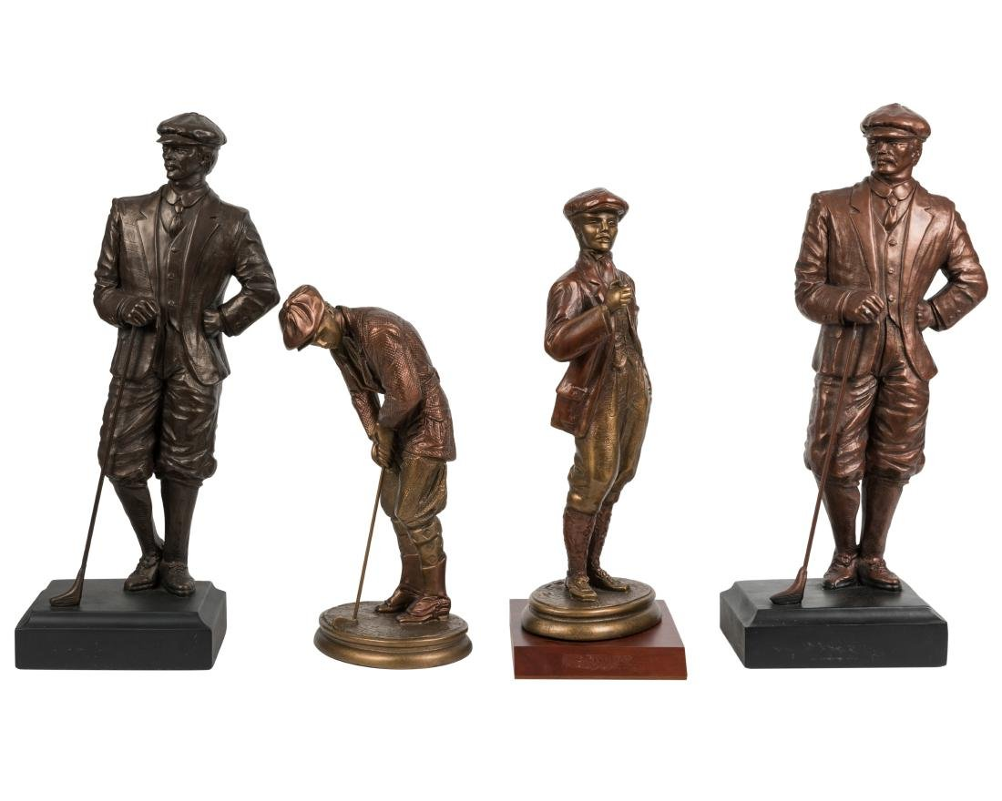 Austin Sculpture Golf Figures - Four
