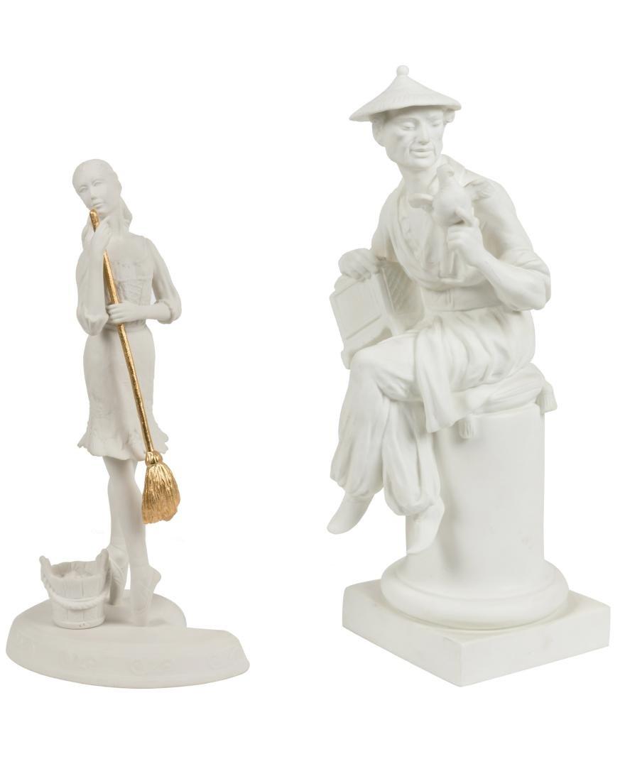 Blanc De Chine Porcelain Figures