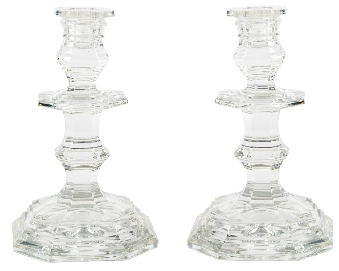 Baccarat Candle Sticks