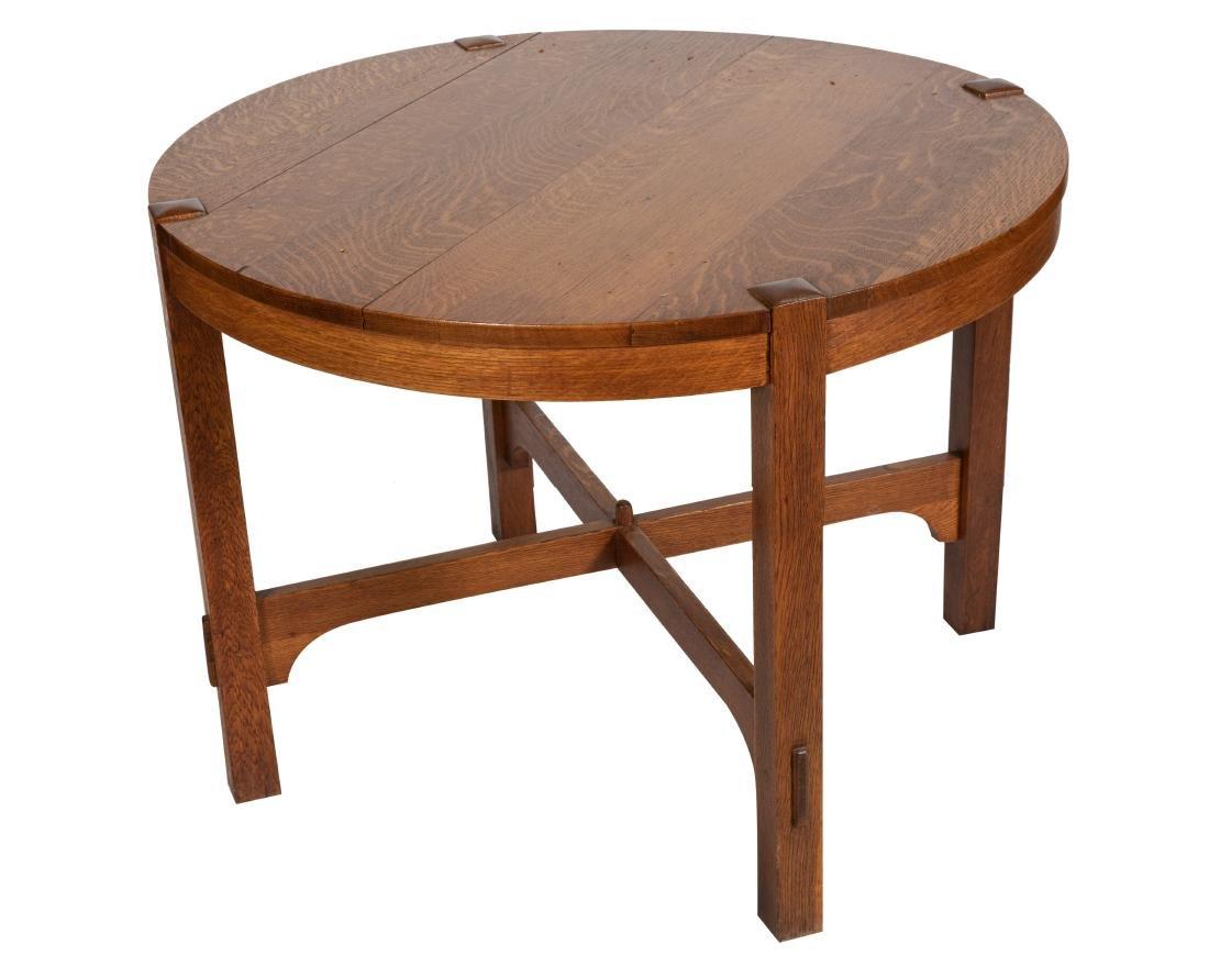 Mission Oak Center Table