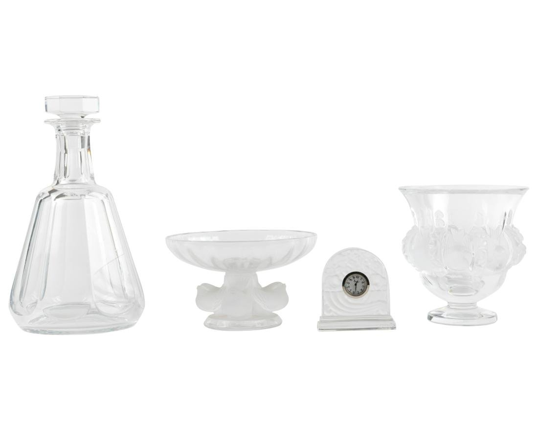 4 Piece Lalique