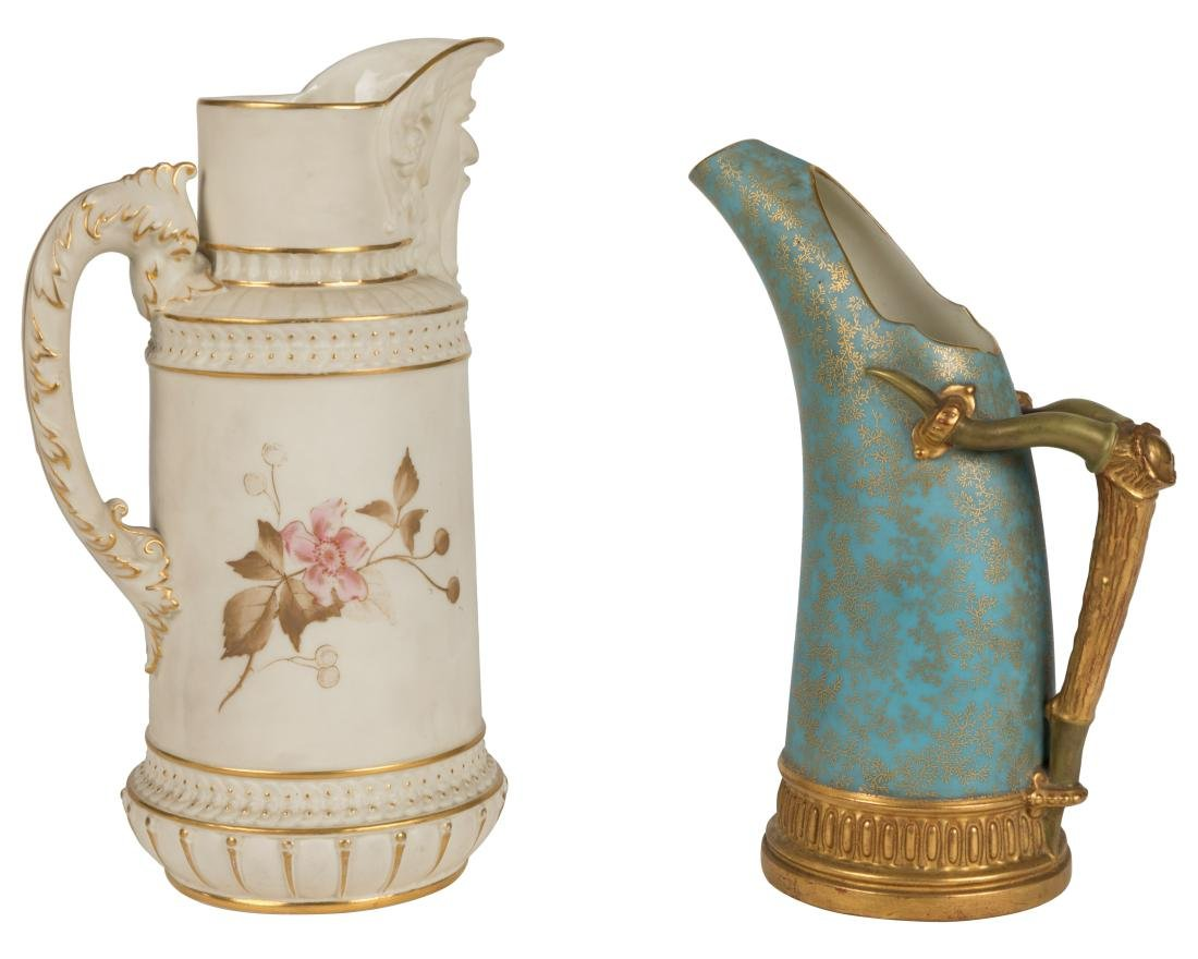 Royal Worcester Pitchers - Two