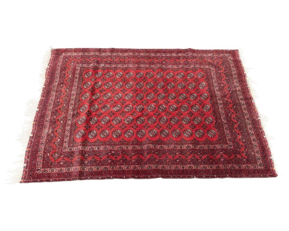 "9' x 6'6"" Bokhara Oriental Rug"