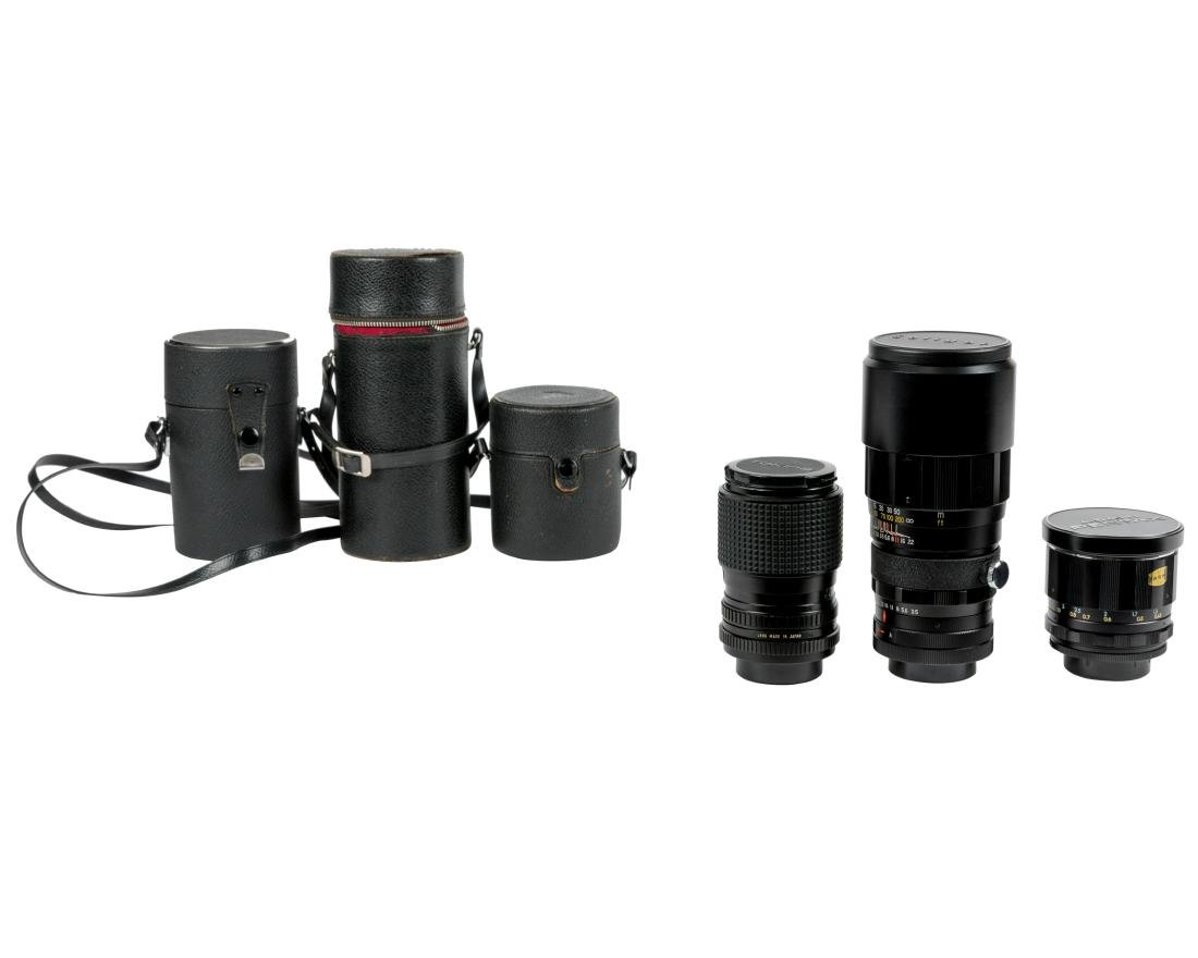 Group Japanese Camera Lenses