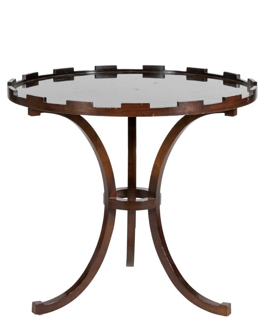Baker Mahogany Table