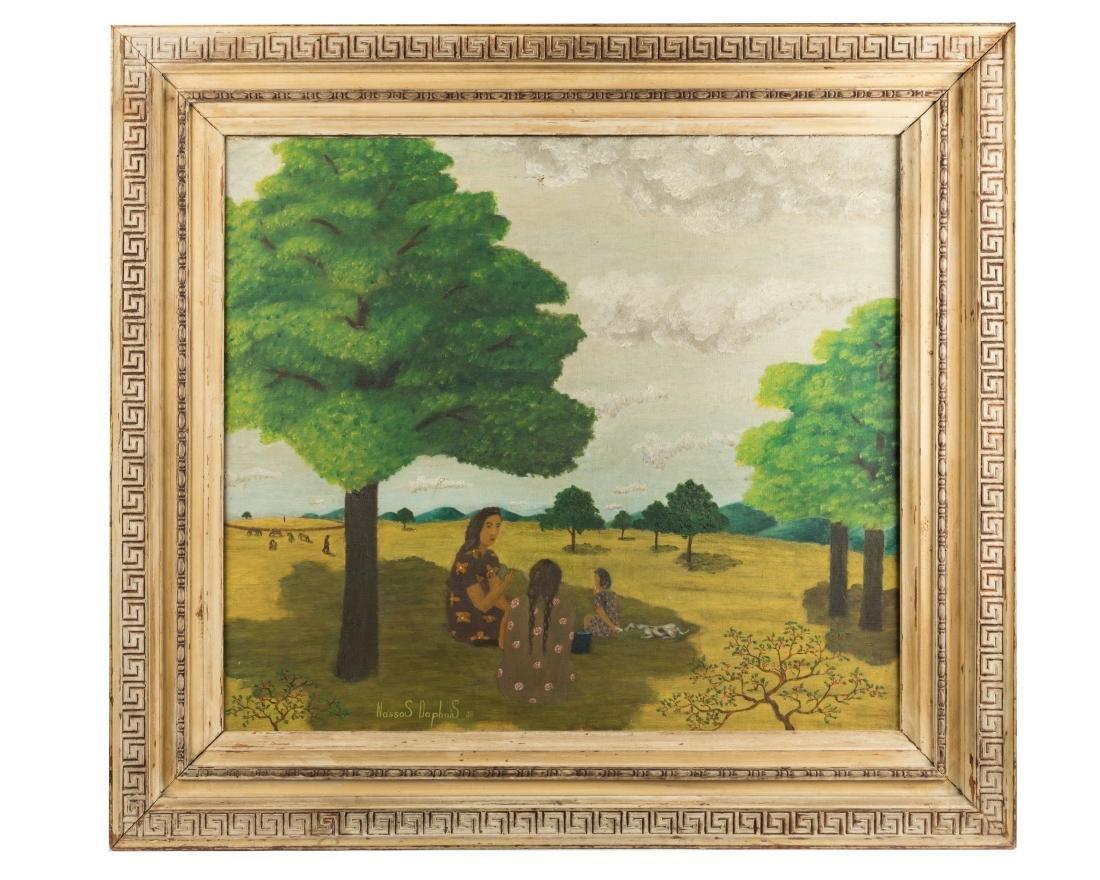 Nassos Daphnis - (Provincetown) - Oil on Canvas