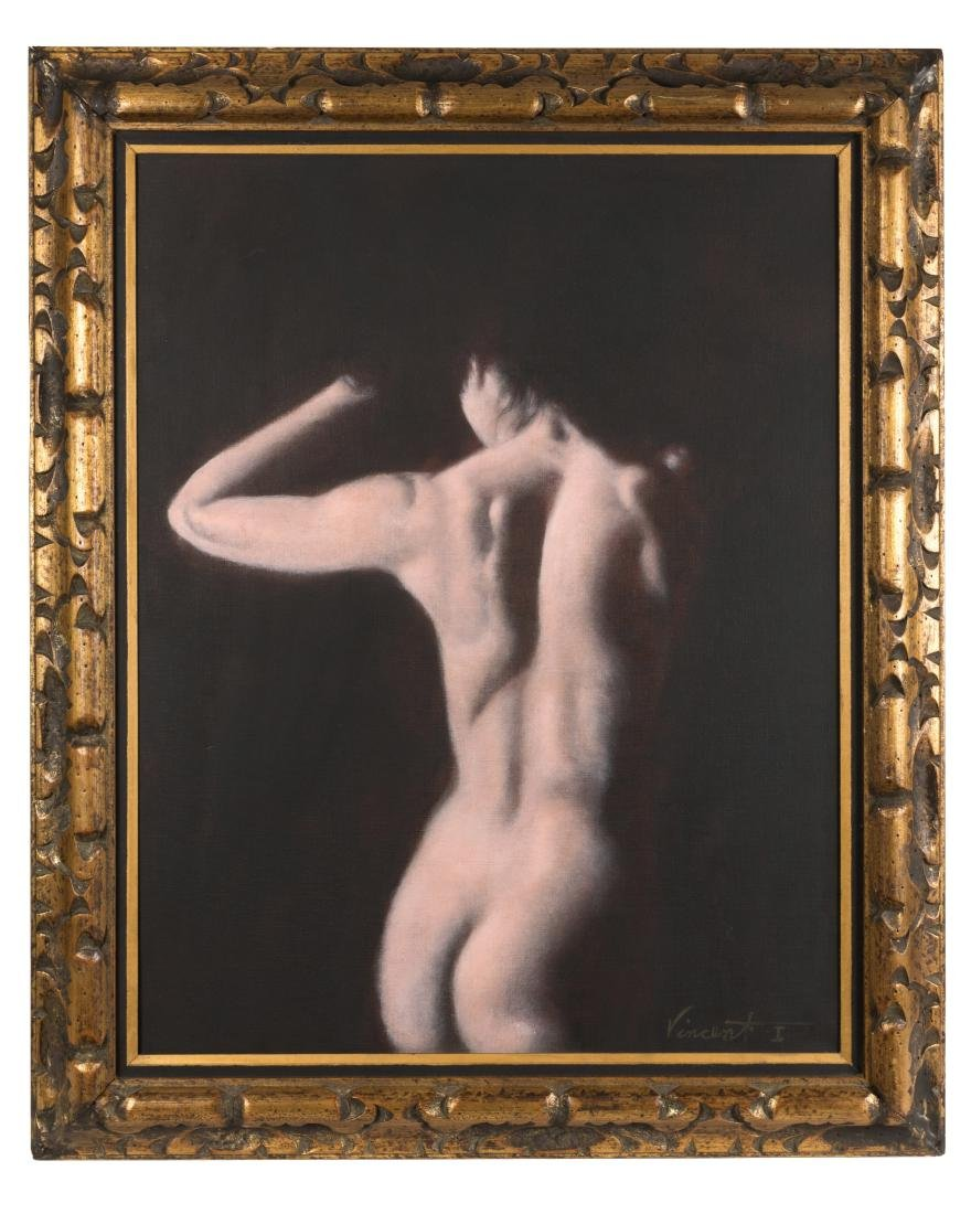Nude - Acrylic on Canvas - Vincent