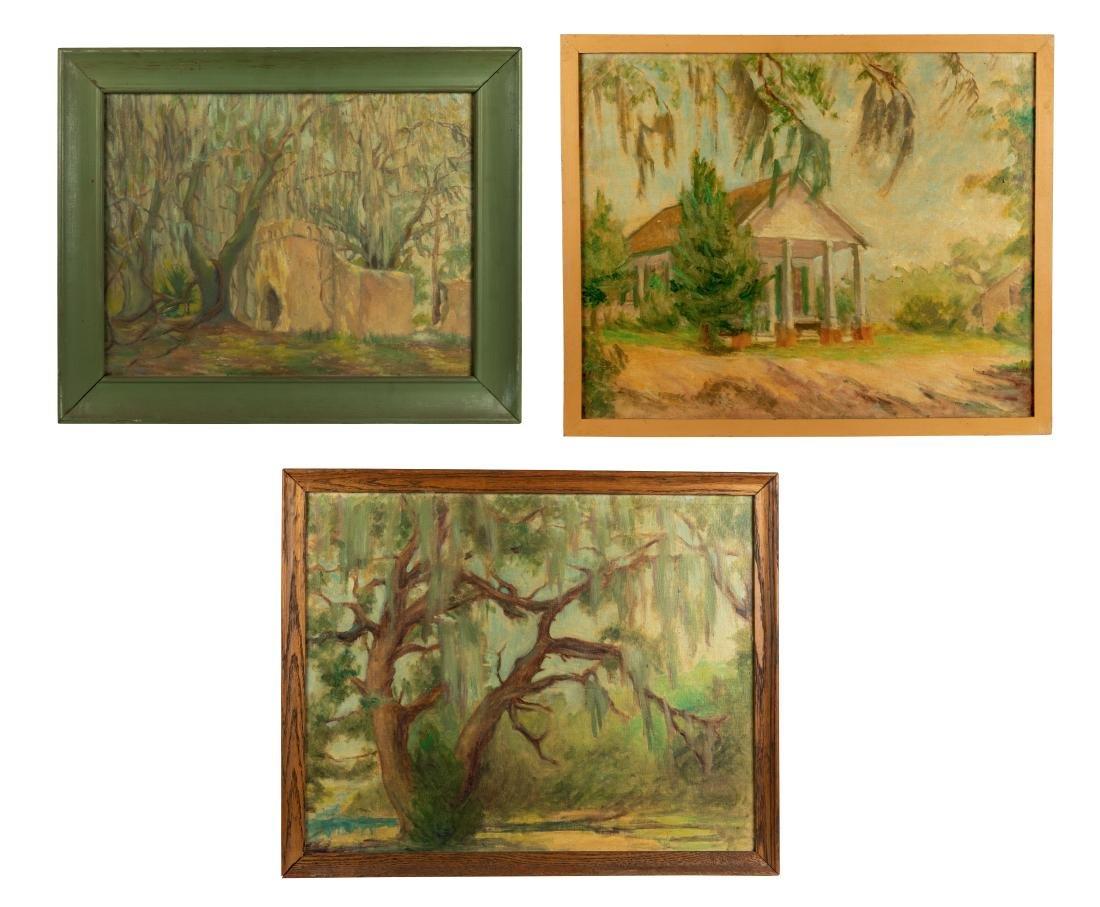Helen A.F. Penniman - 2 Oil Paintings