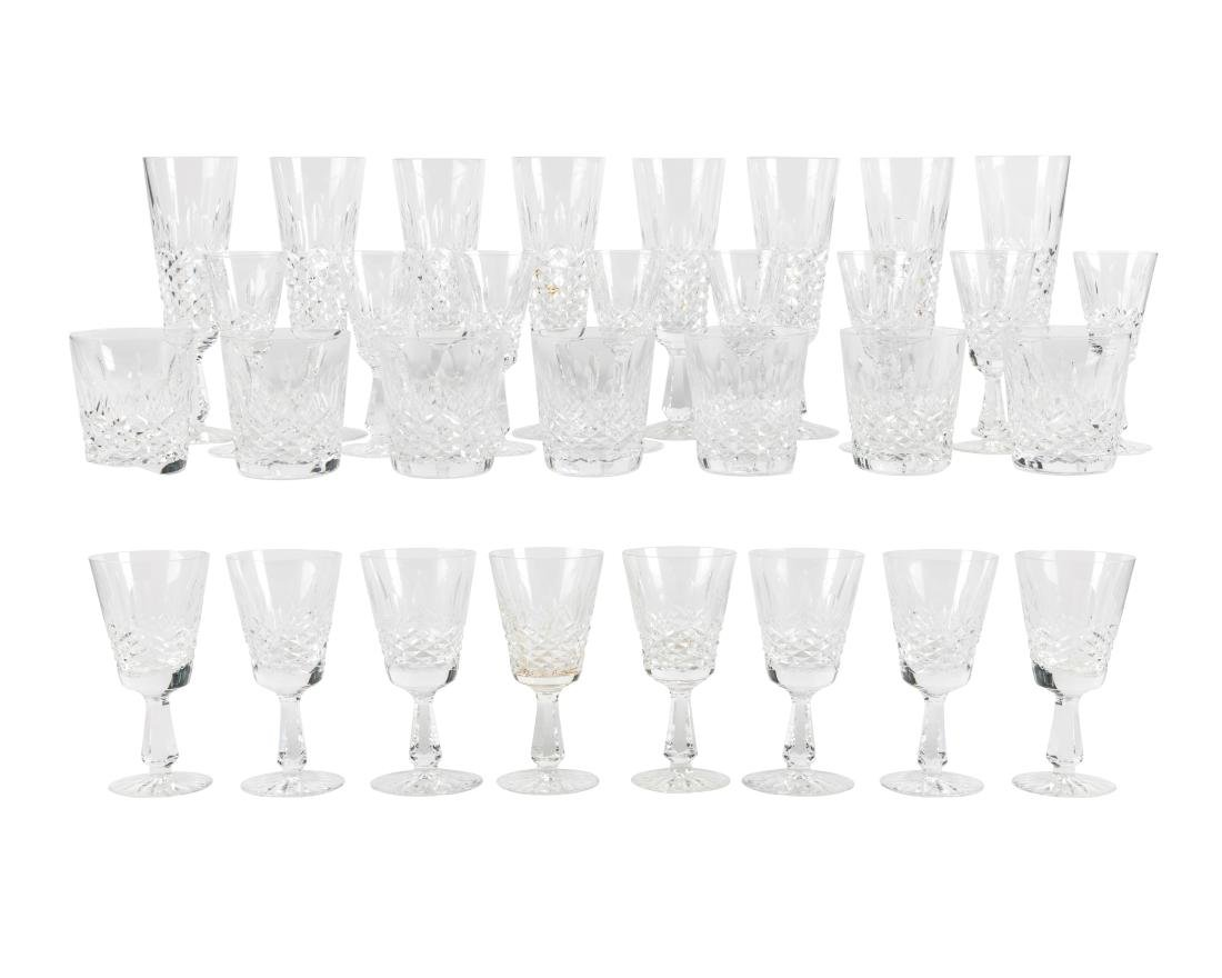Waterford Colleen Crystal Stemware - 31 Pieces