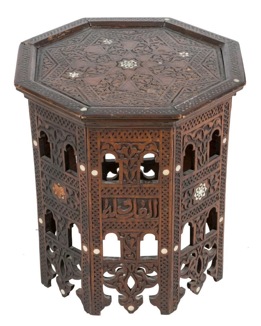 Mother of Pearl Persian Octagonal Table