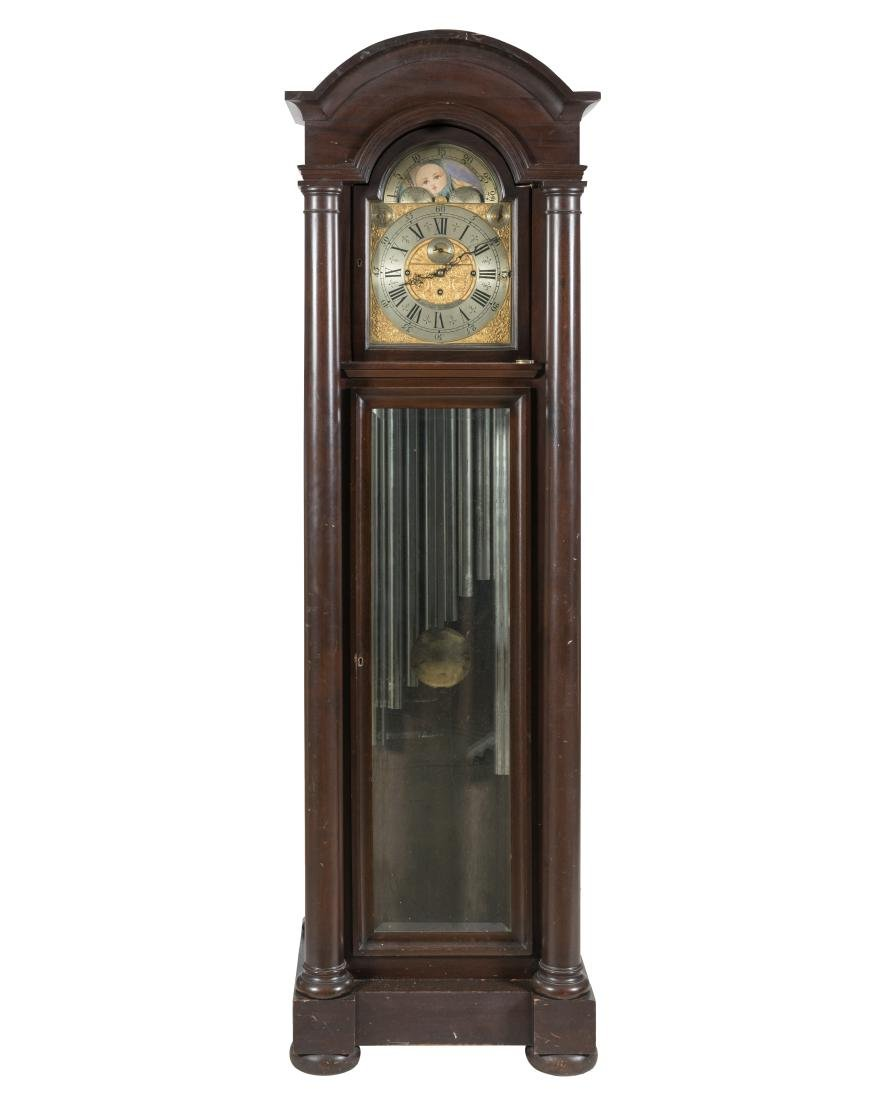 John Wanamkaer Mahogany Grandfather Clock
