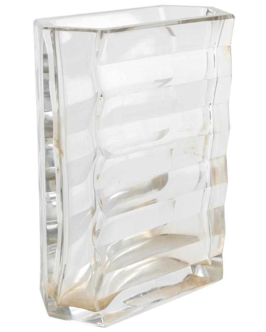 Baccarat Crystal Vase - Signed