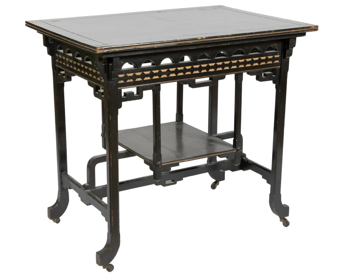 Ebonized Aesthetic Parlor Table