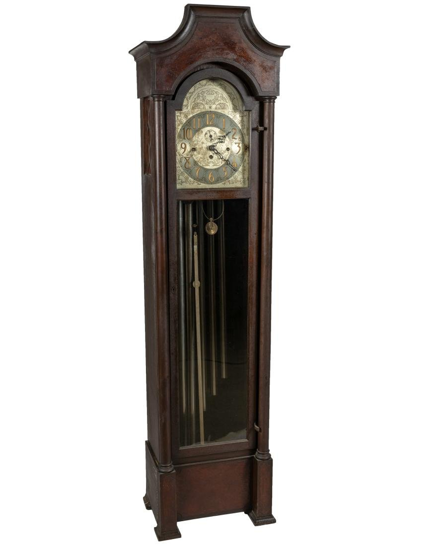 Mahogany Chime Grandfather Clock