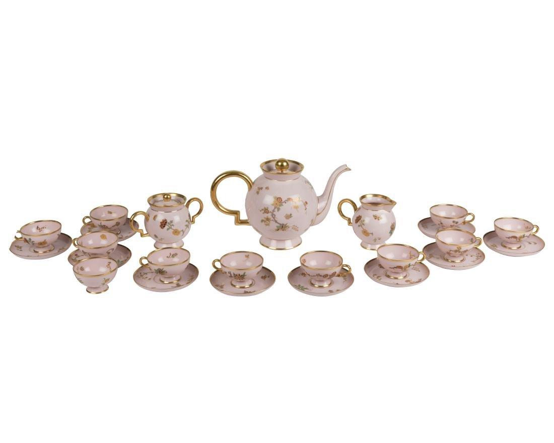 Richard Ginori Porcelain Tea Set - 15 Piece