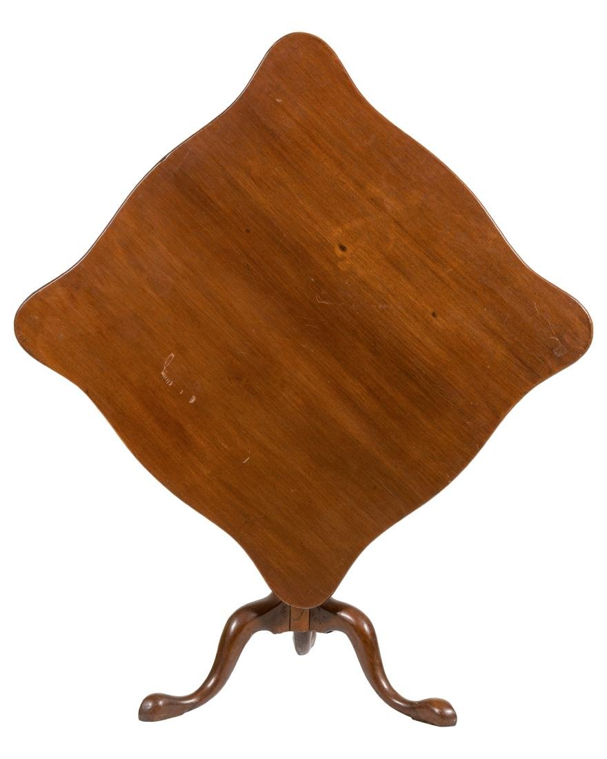 Queen Anne Mahogany Tilt Top Tea Table