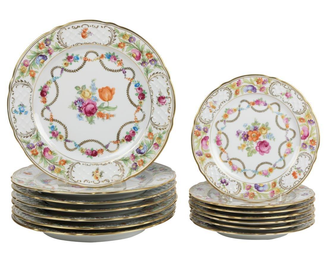 Schumann Bavaria Plates - 14