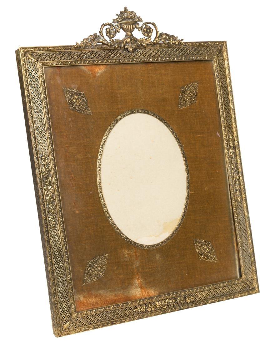 French Bronze Dresser Frame