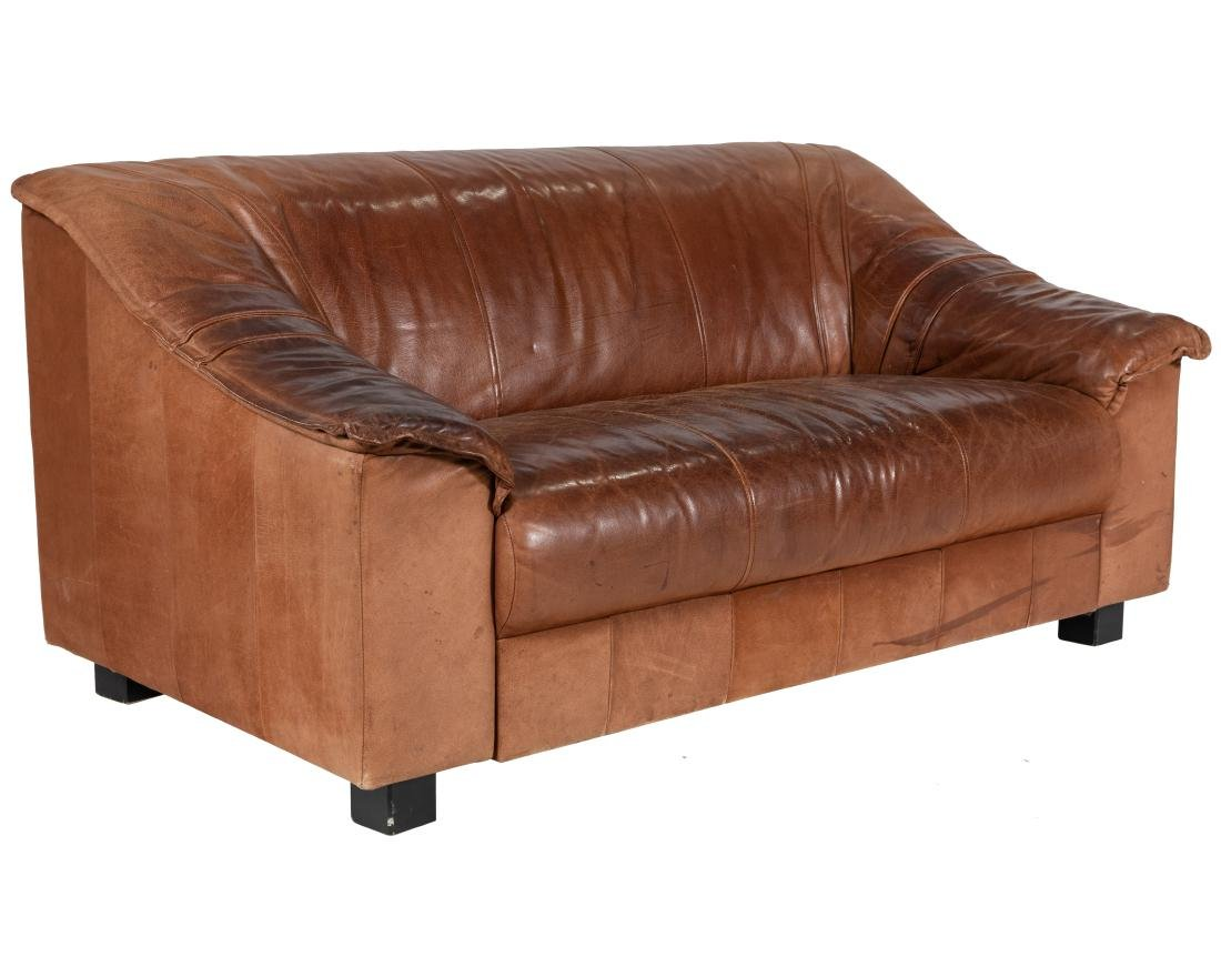 Desede Style Leather Loveseat