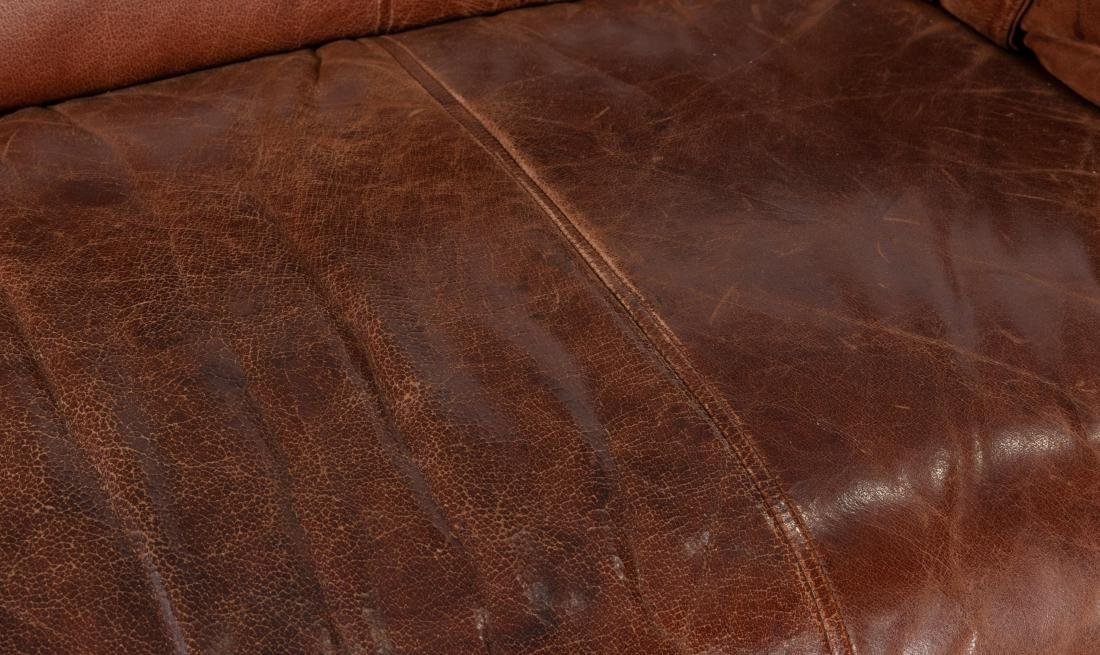 Desede Style Leather Loveseat - 3